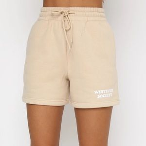 White fox Go For It Lounge Shorts Sand